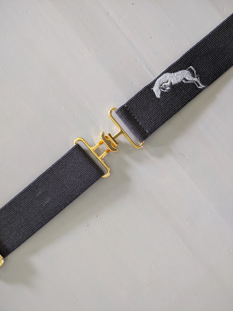 Jumper Embroidered Belt