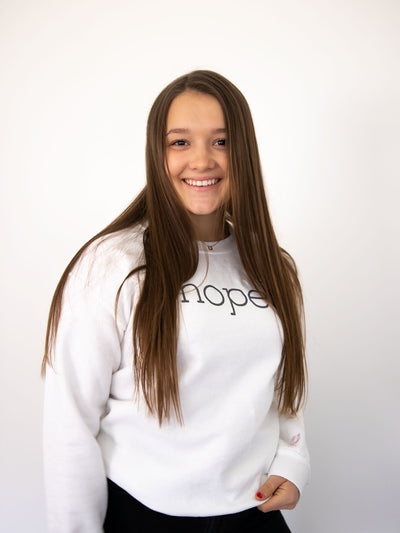 Allie Hope Sweatshirt - Pink Horseshoe