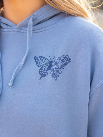 Butterfly Effect Hoodie - Pink Horseshoe