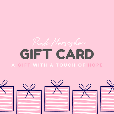 Pink Horseshoe Gift Card - Pink Horseshoe