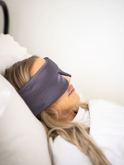Sierra Sleep Mask - Pink Horseshoe
