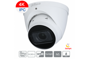 Dahua 8MP (4K) Starlight IP Turret Motorized