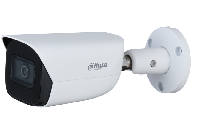 Dahua 5MP Lite AI Fixed Starlight Bullet, Perimeter, SMD, SD Card, WDR, IR50m, Built-in Mic,IP67, POE