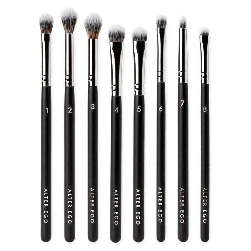 8-Piece Eye Brush Collection