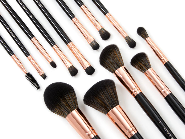 12 Piece Brush Set with Bag