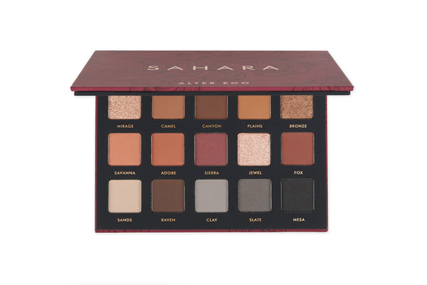 Sahara 15 Color Eyeshadow Collection