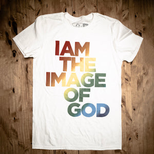 I Am The Image of God Tee - Rainbow