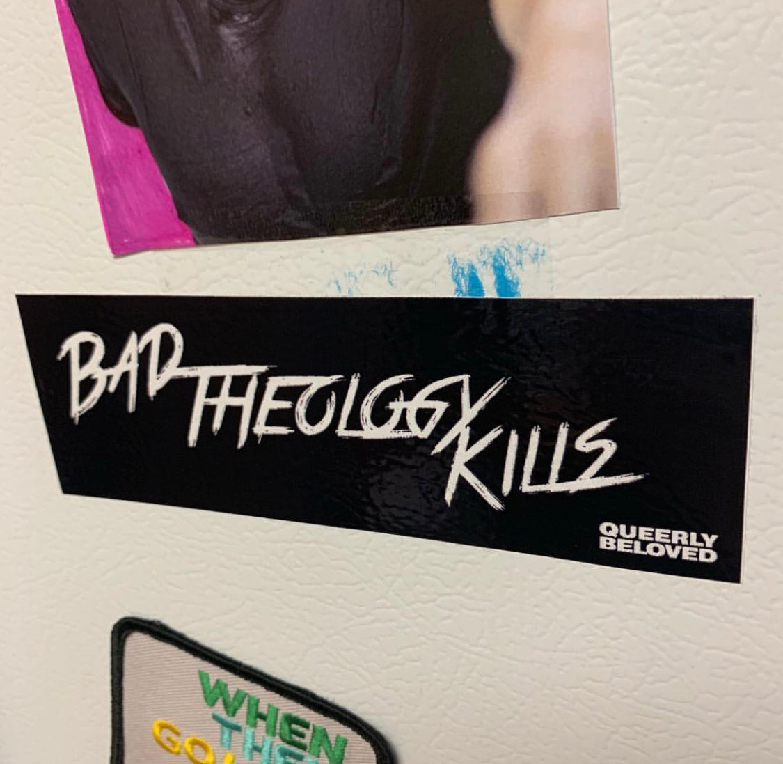 Bad Theology Kills Sticker