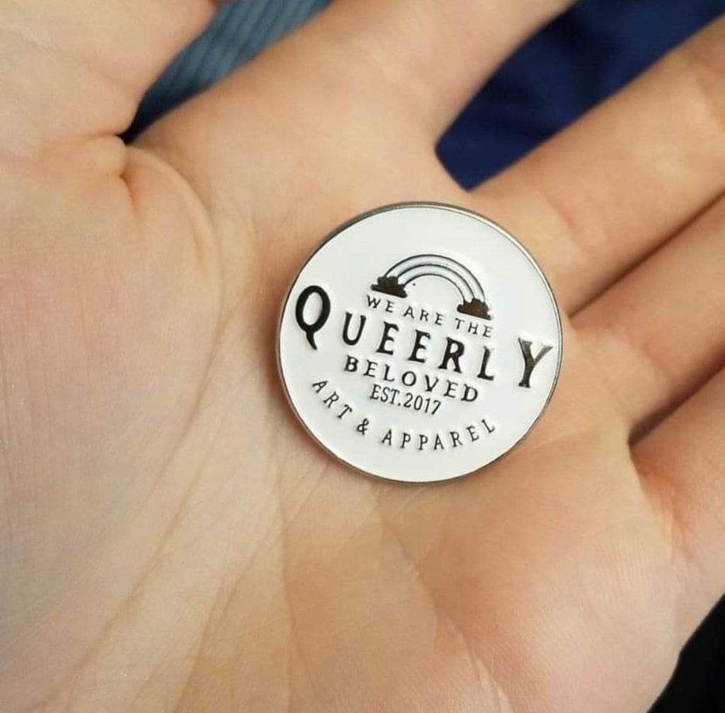 Queerly Beloved Pin