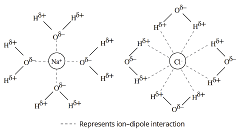 HSC Chemistry –Ion Dipole Force
