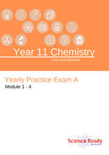 Load image into Gallery viewer, Year 11 Chemistry Preliminary Practice Exam A