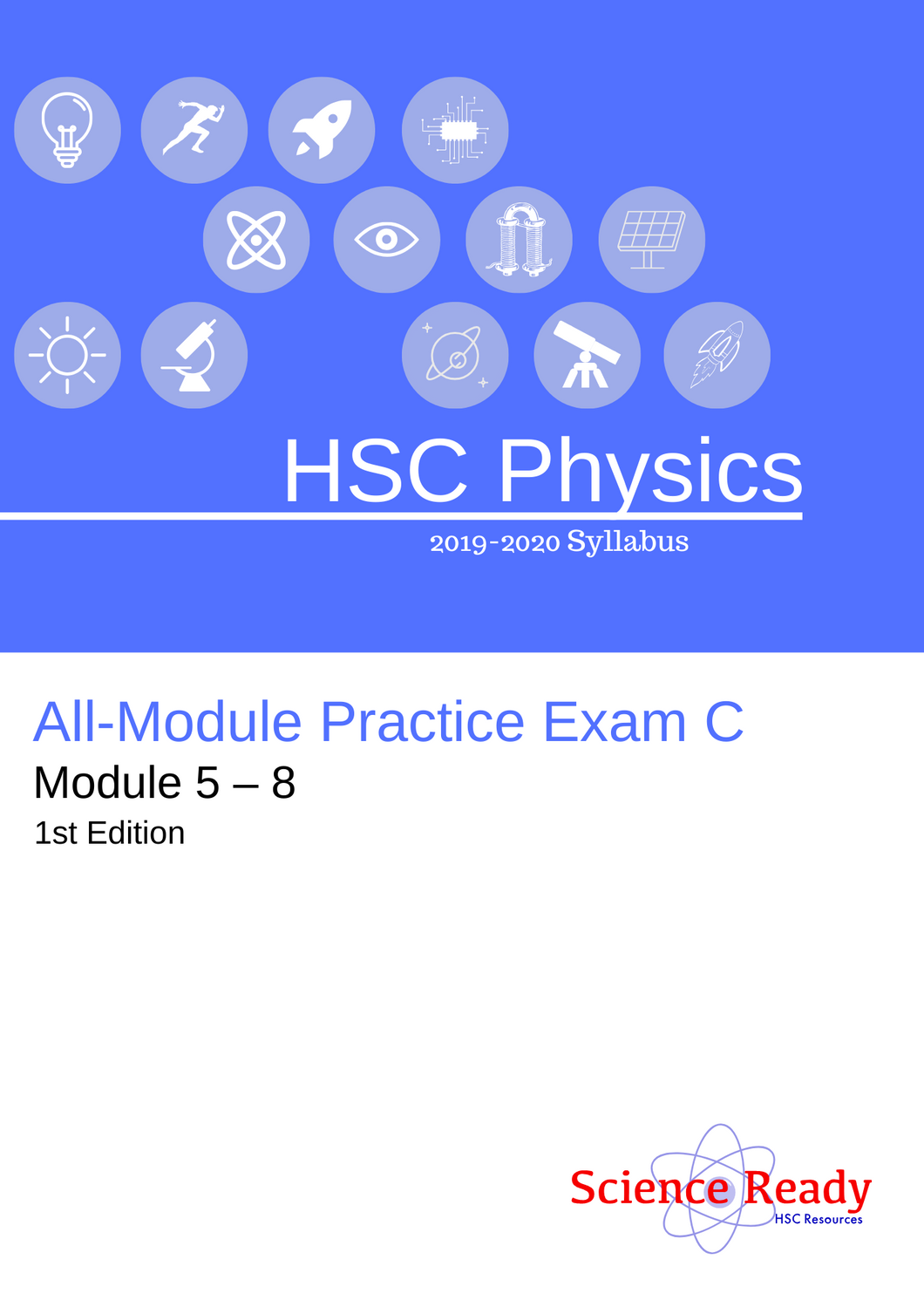 HSC Physics All-Module Practice Exam C