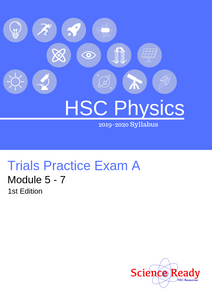 HSC Physics 2019 Trial Practice Exam A