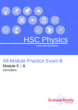 Load image into Gallery viewer, HSC Physics All-Module Practice Exam B (2nd Ed)