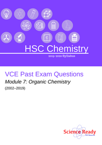 HSC Chemistry Module 7 VCE Past Exam Questions (2002-2019)