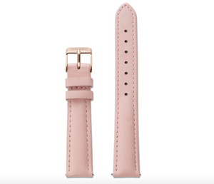 Aurora Interchangeable Simple Leather Strap ladies women pretty stylish swap mesh rose gold