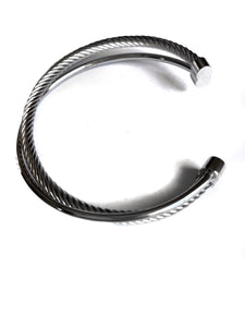 Aurora Twist Bangle