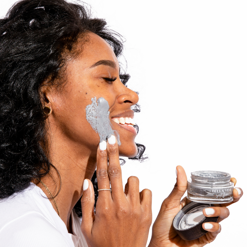 Blueberry Coco Charcoal Clay Mask