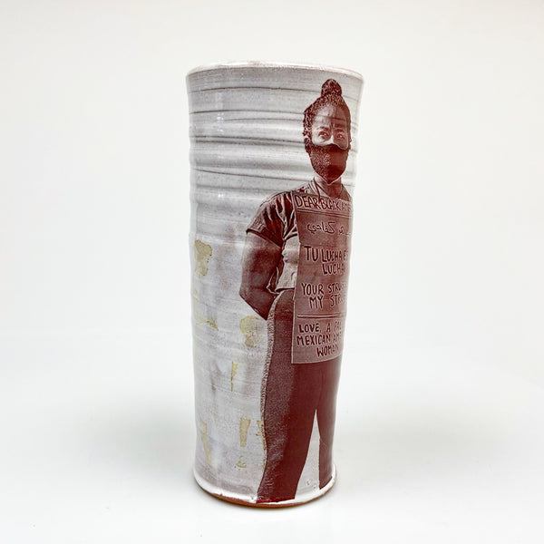Isaac Scott and Justin vase collaboration