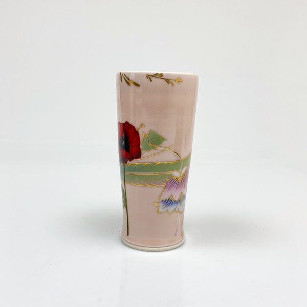 Samantha Hostert and Justin tumbler collaboration