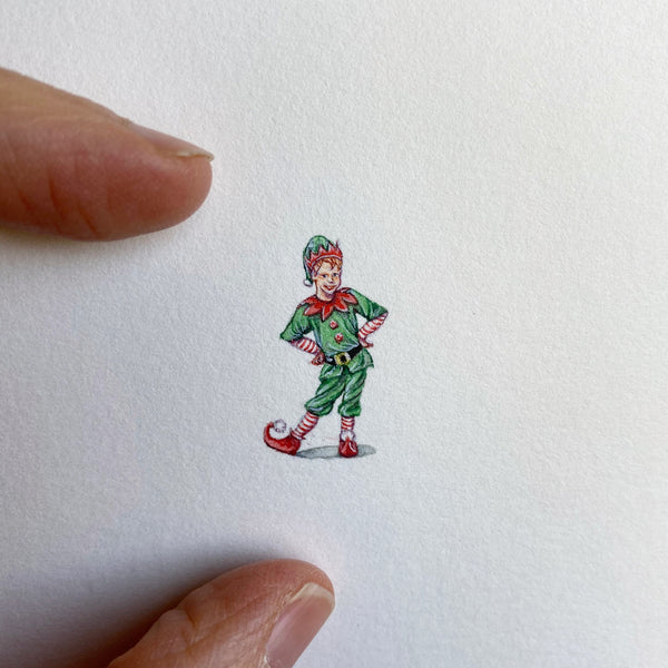Miniature Painting of Elf