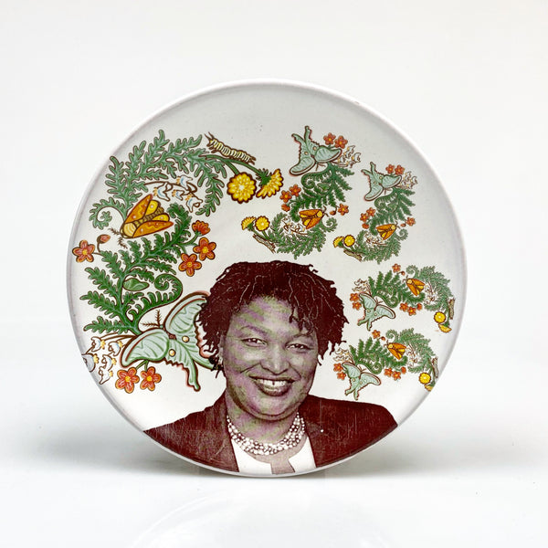 Stacey Abrams plate
