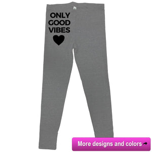 rPet & Organic Cotton Workout Leggings for Women-Eco Conscious Clothing