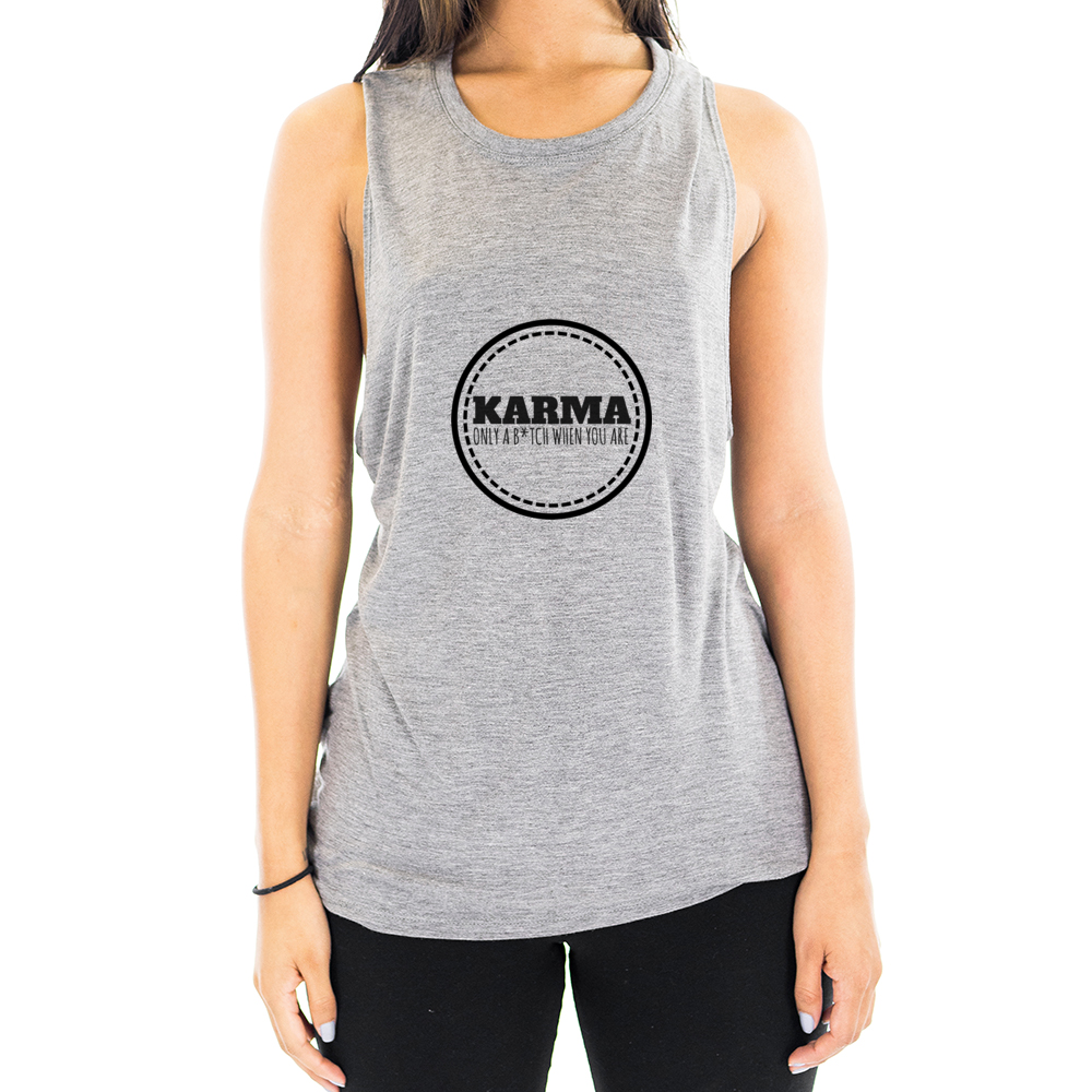 Eco Friendly Muscle Tank Tops for Women | Karma-Eco Conscious Clothing