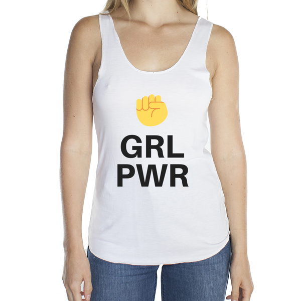 Eco Friendly Racerback Tank Top for Women | GRL PWR-Eco Conscious Clothing