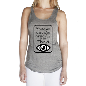 Eco Friendly Racerback Tank Top for Women | Third Eye-Eco Conscious Clothing