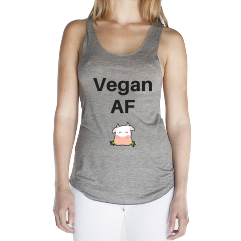 Eco Friendly Racerback Tank Top for Women | Vegan AF-Eco Conscious Clothing