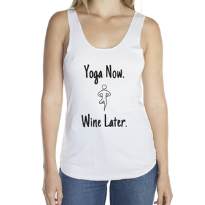 Eco Friendly Racerback Tank Top for Women | Yoga Now-Eco Conscious Clothing