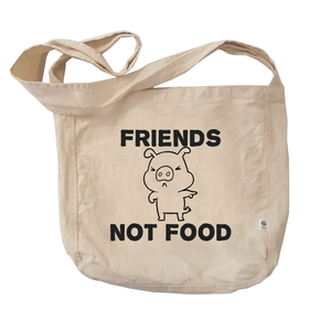 Eco Friendly Reusable Shopping Bags | Friends not Food-Eco Conscious Clothing