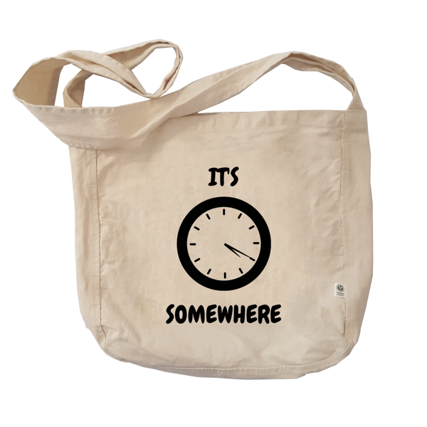 Eco Friendly Reusable Shopping Bags | It's 420 Somewhere (analog)-Eco Conscious Clothing