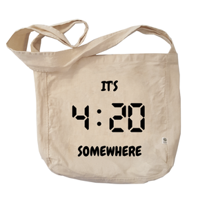 Eco Friendly Reusable Shopping Bags | It's 420 Somewhere (digital)-Eco Conscious Clothing