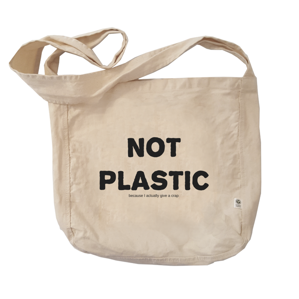 Eco Friendly Reusable Shopping Bags | Not Plastic-Eco Conscious Clothing