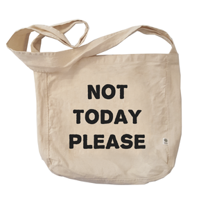 Eco Friendly Reusable Shopping Bags | Not Today Please-Eco Conscious Clothing