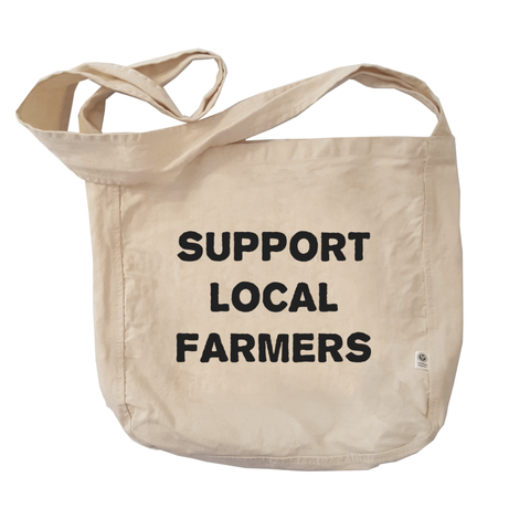 Eco Friendly Reusable Shopping Bags | Support Local Farmers-Eco Conscious Clothing