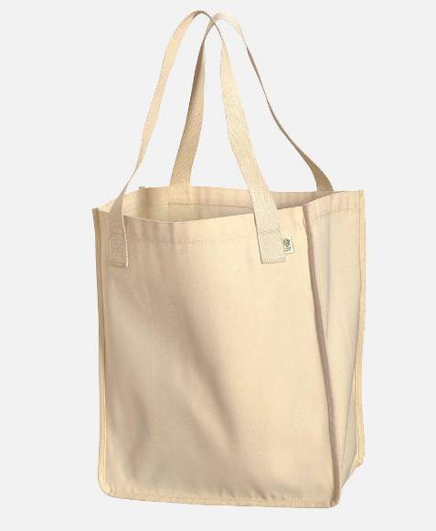 Environmentally Conscious Canvas Tote Bags | Lesbian Pride (PNK)-Eco Conscious Clothing