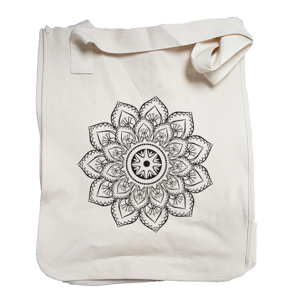 Environmentally Conscious Canvas Tote Bags | Mandala-Eco Conscious Clothing