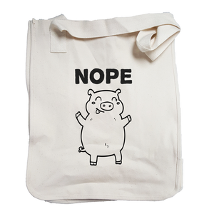 Environmentally Conscious Canvas Tote Bags | Nope-Eco Conscious Clothing