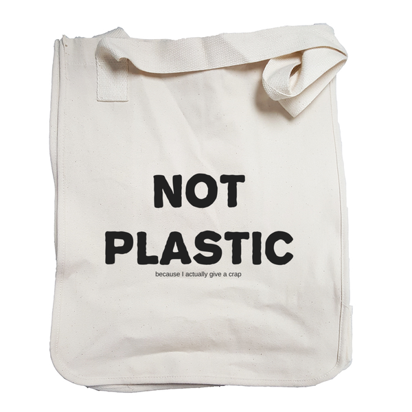 Environmentally Conscious Canvas Tote Bags | Not Plastic-Eco Conscious Clothing