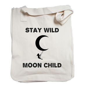 Environmentally Conscious Canvas Tote Bags | Stay Wild Moon Child-Eco Conscious Clothing