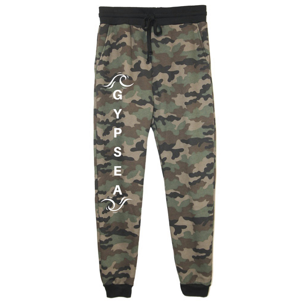 rPet & Organic Cotton Camo Joggers for Women | Gypsea-Eco Conscious Clothing