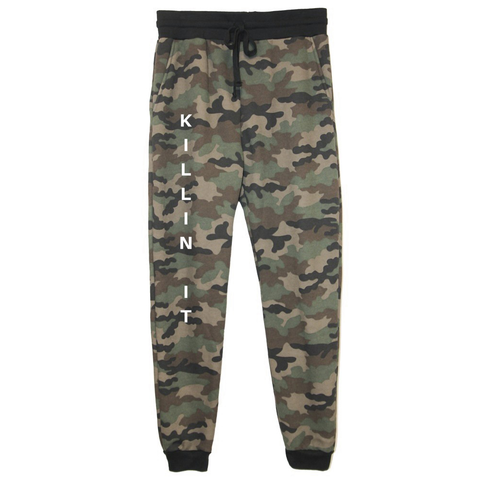 rPet & Organic Cotton Camo Joggers for Women | Killin' It-Eco Conscious Clothing