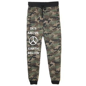rPet & Organic Cotton Camo Joggers for Women | Peace-Eco Conscious Clothing