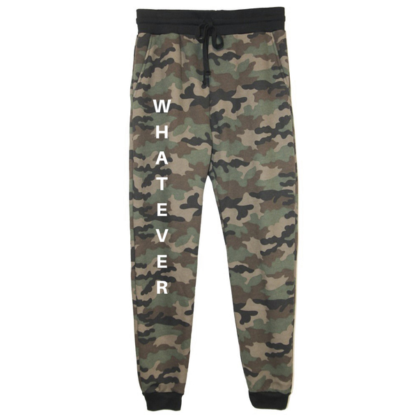rPet & Organic Cotton Camo Joggers for Women | Whatever-Eco Conscious Clothing