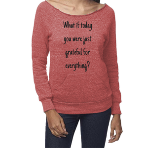 rPet & Organic Cotton Graphic Sweatshirts for Women | Grateful-Eco Conscious Clothing