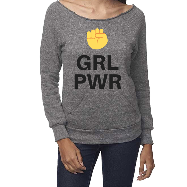 rPet & Organic Cotton Graphic Sweatshirts for Women | GRL PWR-Eco Conscious Clothing
