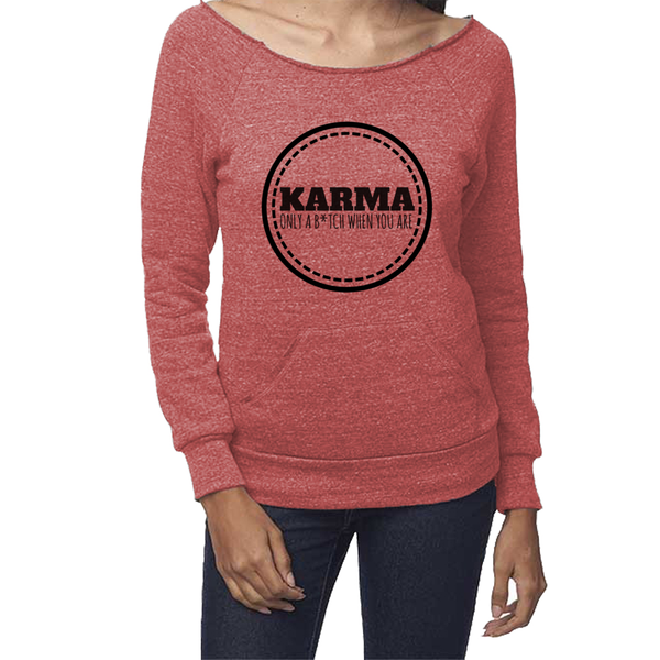 rPet & Organic Cotton Graphic Sweatshirts for Women | Karma-Eco Conscious Clothing